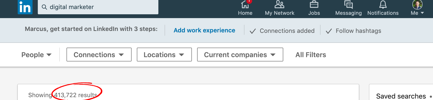 LinkedIn Digital Marketers