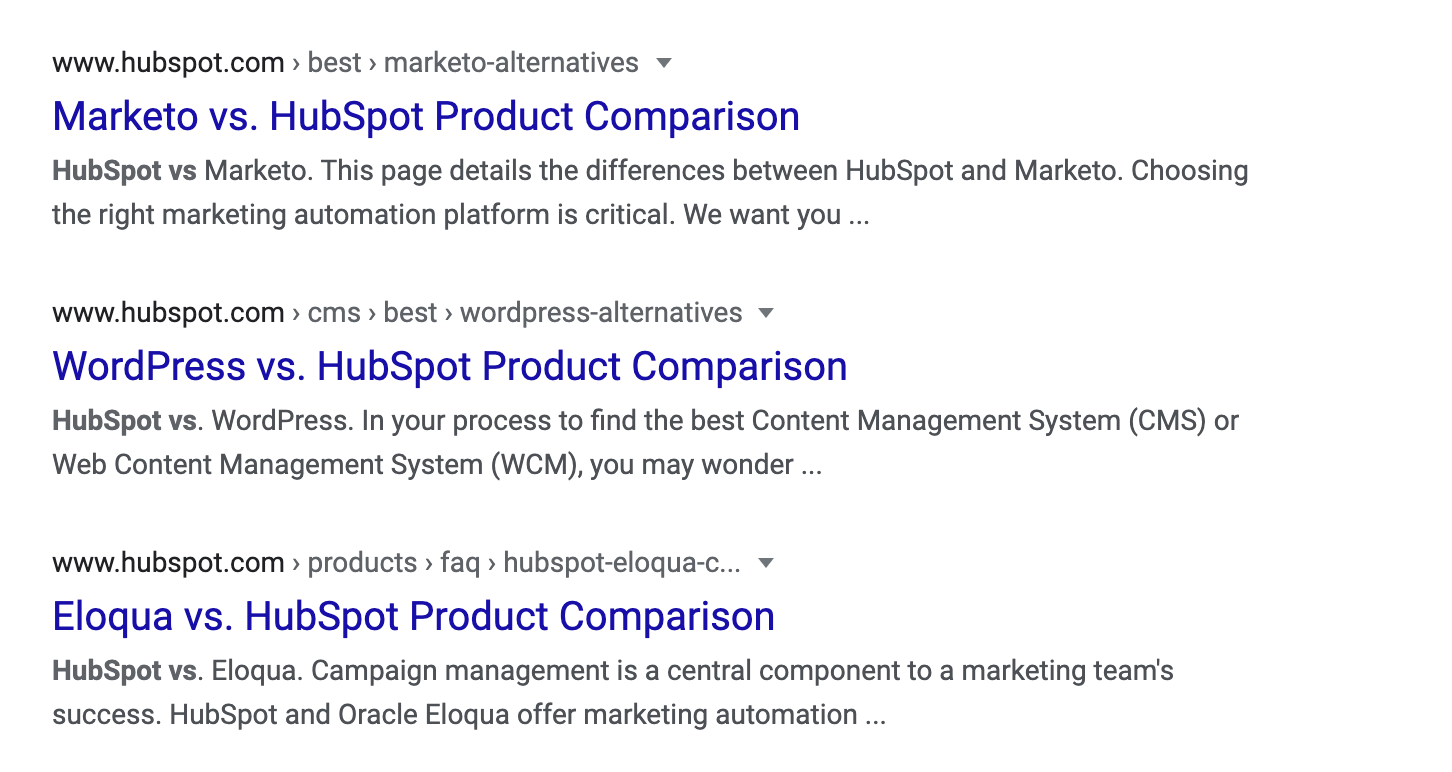 hubspot-comparisons